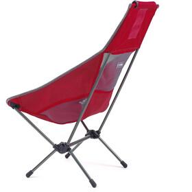 Helinox Chair Two, scarlet/iron/steel grey